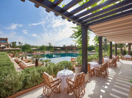 23. Pool Garden restaurant