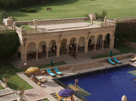 Agra Pool view