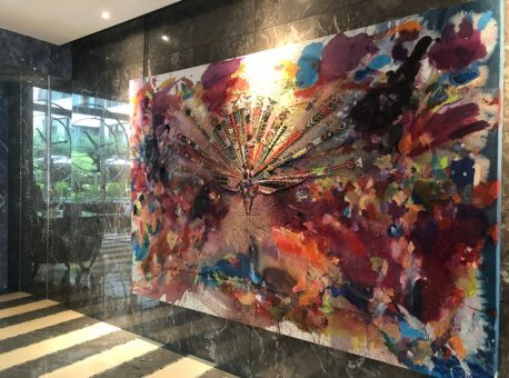 Lobby art.