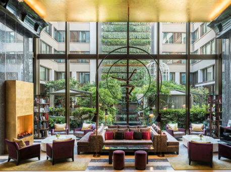 Mandarin Oriental Paris - Le lobby00001