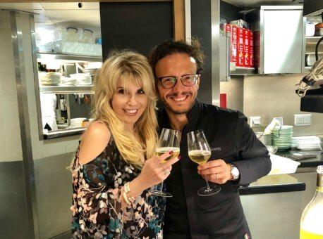 Michelin star chef Simone Zanoni