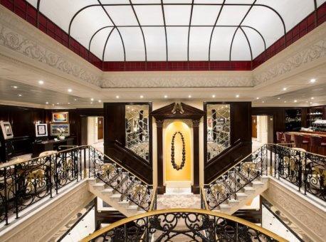 Stairwell from Deck 5 - Midship Azamara Journey - Azamara Club Cruises