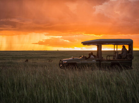 Mara Plains Camp in Kenya