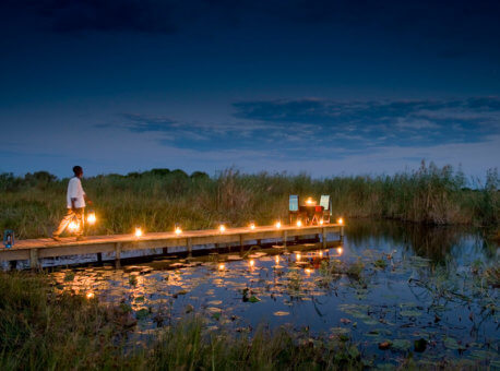 Selinda Camp in Botswana