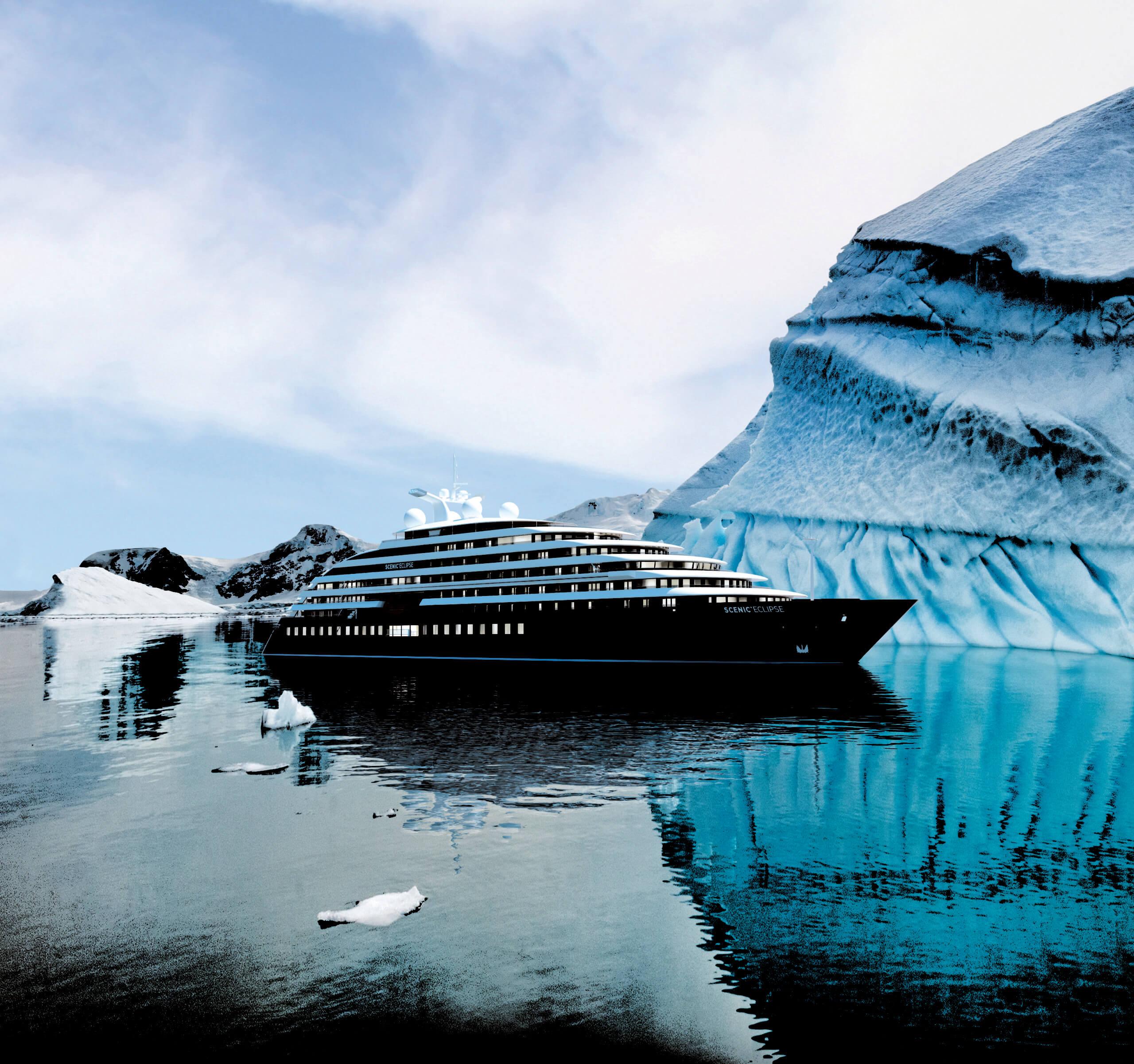 Scenic Yacht in Antarctica