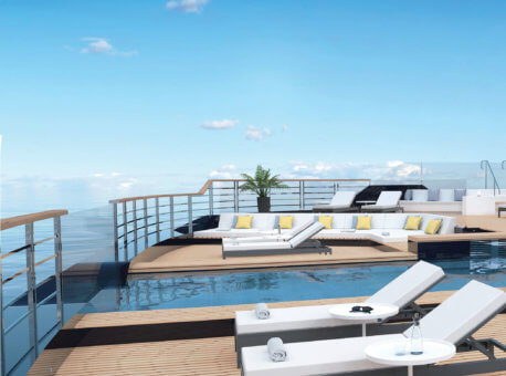 Main Pool Deck Aft