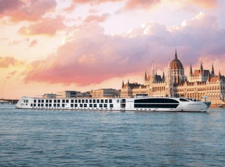 Maria Theresa on the Danube