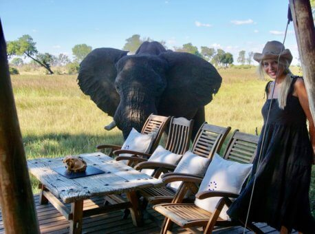 Duba Plains in Botswana