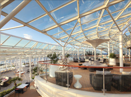 Solarium - Deck 15/16 Forward Oasis of the Seas - Royal Caribbean International
