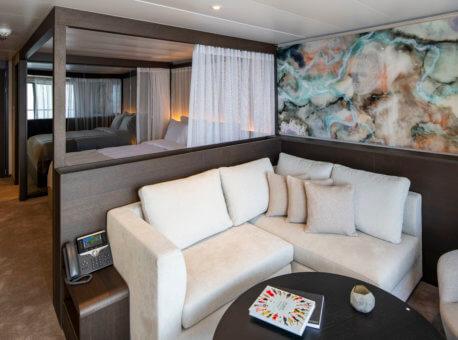 Scenic Eclipse Spa Suite Lounge
