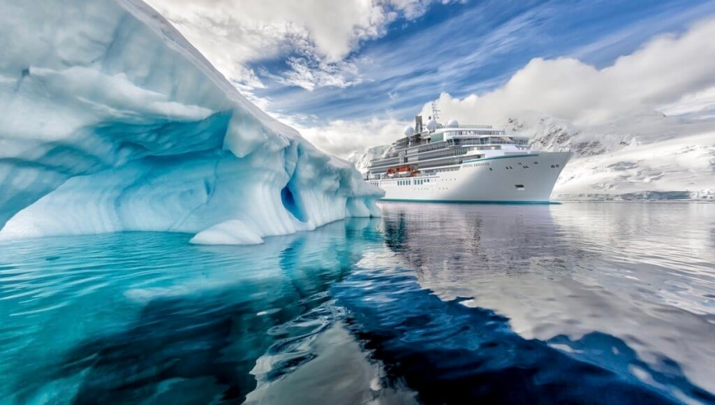 Expedition Cruising: Crystal Endeavor Ship in the Arctic