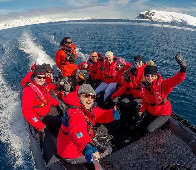 Antarctica-Zodiac-Guest-Selfie