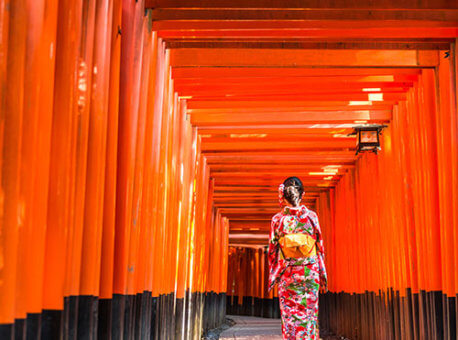 Asia-Japan-Kyoto-Gates