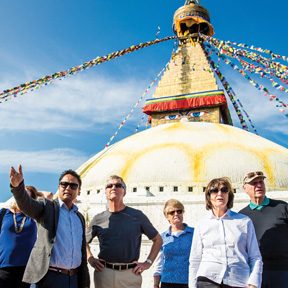 Asia-Kathmandu-Guide-Guests
