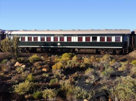 Rovos rail cart