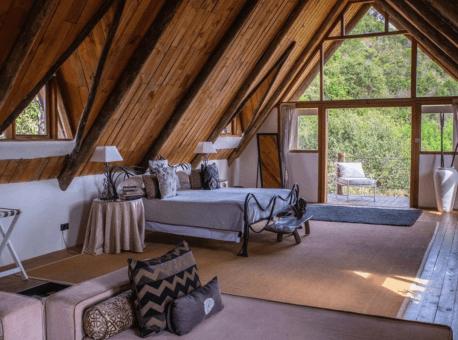 Master bedroom in Villa