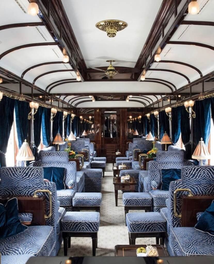 Luxury Train Interior